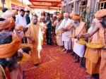 उपचुनाव की हार के बाद गोरखपुर पहुंचे सीएम योगी, राम नवमी की दी बधाई और किया कन्या पूजन