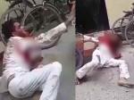 सड़क पर घंटों खून से लथपथ तड़पता रहा युवक, लोग बनाते रहे वीडियो