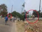 भारत बंद के दौरान दलितों ने पुलिसवालों को दौड़ा-दौड़ाकर पीटा था, घटना का वीडियो वायरल