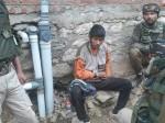 जम्मू कश्मीर के कुपवाड़ा में सेना के हत्थे चढ़ा पाकिस्तान का आतंकी हमजा