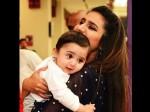 छोटे बच्चे  के साथ प्रिया प्रकाश की तस्वीर, हुए ऐसे-ऐसे सवाल