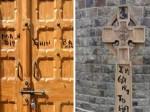 नई दिल्ली: सेंट स्टीफेंस कॉलेज के चर्च और क्रॉस पर लिखे भड़काऊ शब्द