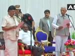 कुमारस्वामी का पहला कैबिनेट विस्तार, डीके शिवकुमार ने ली मंत्रीपद की शपथ