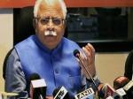 हरियाणा: CM खट्टर की चेतावनी, लड़कियों की ओर उठने वाली उंगली काट देंगे