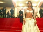 Sexy Sherlyn Chopra wears lehenga choli at Cannes 2013