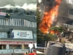 सूरत आग का खौफनाक VIDEOS, धू-धू कर जल रही थी बिल्डिंग, जान बचाने के लिए चौथी मंजिल से कूदते छात्र