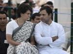 भाजपा को मिली बड़ी बढ़त, राहुल गांधी से मिलने उनके घर पहुंचीं प्रियंका