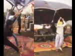 Weather : तेज अंधड़ से उड़ते टेंट को बचाने में युवकों ने लगा दी पूरी ताकत, देखें वायरल वीडियो