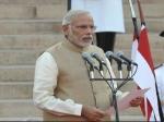 नरेंद्र मोदी के शपथ ग्रहण समारोह में अभी विदेशी मेहमानों को न्योता नहीं- सूत्र
