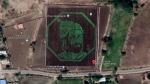 किसानों ने अनोखे अंदाज में किया शिवाजी को याद, गूगल मैप पर छह एकड़ में बनी पेंटिंग, वायरल