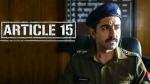 फिल्म 'आर्टिकल 15' के खिलाफ हाईकोर्ट में जनहित याचिका दाखिल, रिलीज पर संकट