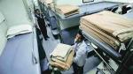 ट्रेनों के एसी कोच से चोरी हुए 18 लाख के बिस्तर, बेडशीट, कंबल और तकिए में जो हाथ लगा वहीं ले गए