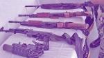 बस्तर: मुठभेड़ में नक्सलियों के पास मिली पाकिस्तानी सेना की राइफलें
