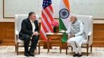 प्रधानमंत्री नरेंद्र मोदी से मिले अमेरिका के विदेश मंत्री माइक पोंपेयो