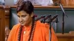 साध्वी प्रज्ञा सिंह ठाकुर की शपथ पर विवाद, अपने नाम में शामिल किया था गुरू का नाम