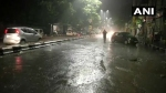दिल्ली में बीती रात बारिश से लोगों को गर्मी से कुछ हद तक राहत