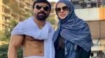 Video: एजाज खान की गिरफ्तारी पर मीडिया के सामने रो पड़ीं पत्नी, कही ये बात