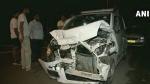 दिल्ली: तेज रफ्तार मर्सिडीज की टक्कर से CRPF कॉन्स्टेबल की मौत