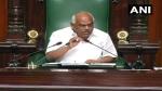 कर्नाटक: कांग्रेस के बीमार विधायक पर स्पीकर ने गृहमंत्री से मांगी रिपोर्ट