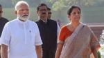भारत में मंदी के संकेत, पीएम मोदी ने वित्त मंत्री निर्मला सीतारमण के साथ की मंत्रणा