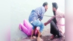सिख युवकों ने पेश की मिसाल, अपनी पगड़ी उतार के नहर में डूब रही बुजुर्ग महिला की बचाई जान