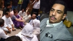 प्रियंका गांधी को हिरासत में लेने पर क्या बोले उनके पति रॉबर्ट वाड्रा