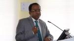 त्रिपुरा यूनिवर्सिटी के वाइस चांसलर ने कार्यक्रम में ABVP का झंडा फहराया