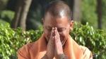 सीएम योगी ने भगवान हनुमान की प्रतिमा पर चढ़ाया 2.5 किलो का स्वर्ण मुकुट