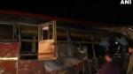 महाराष्ट्र में बड़ा सड़क हादसा, बस और कंटेनर की भिड़ंत में 11 की मौत, 20 लोग घायल