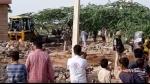 नागौर में अतिक्रमण हटा रहे दल पर पथराव, नगर परिषद के JCB चालक की मौत के बाद फूटा लोगों का गुस्सा