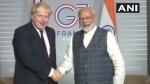 पीएम मोदी की G-7 में क्रिकेट डिप्लोमेसी, ब्रिटिश PM को एशेज में जीत की दी बधाई