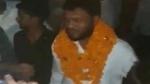 बुलंदशहर हिंसा: जमानत पर जेल से छूटे आरोपियों का माला पहनाकर स्वागत, लगे जय श्री राम के नारे