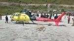 उत्तराखंड: छह यात्रियों को ले जा रहा हेलीकॉप्टर क्रैश, सभी सुरक्षित