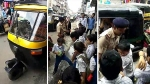 एक ऑटो में भेड़-बकरी की तरह ठूंस रखे थे 20 बच्चे, गुजरात पुलिस ने वीडियो बनाकर की गिनती
