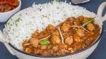 छोले चावल में निकला मांस का टुकडा, हॉस्टल के बाहर छात्रों ने किया हंगामा