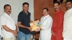 'संपर्क से समर्थन' कैंपेन के तहत बेंगलुरु में राहुल द्रविड़ से मिले जेपी नड्डा
