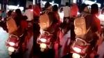चलती स्कूटी पर अश्लील हरकतें करते हुए कपल का वीडियो वायरल, हरकत में आई पुलिस