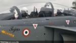 लड़ाकू विमान 'तेजस' में राजनाथ सिंह ने भरी उड़ान, ऐसा करने वाले पहले रक्षा मंत्री, देखें Video
