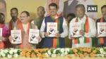 महाराष्ट्र विधानसभा चुनाव के लिए भाजपा ने जारी किया घोषणापत्र