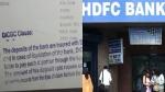 HDFC बैंक की पासबुक पर 1 लाख रुपए वाली इस स्टांप का क्या है असली सच