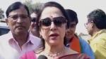 मंडावा उप चुनाव 2019 : BJP प्रत्याशी को सिंघाड़ा, जिले को झुनझुना बोल गईं हेमा मालिनी