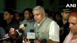 पश्चिम बंगाल के राज्यपाल का आरोप-दुर्गा पूजा में हुआ अपमान, दुखी हूं