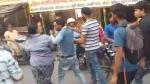 मेरठ: स्कूटी में टक्कर लगने के बाद महिला ने काटा हंगामा, बस चालक को जमकर पीटा