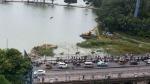 हैदराबाद की हुसैन सागर झील गूगल मैप पर जय श्री राम झील हुई