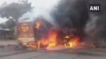 महाराष्ट्र के कोल्हापुर में चुनाव से ठीक पहले ट्रक में संदिग्ध धमाका, एक की मौत