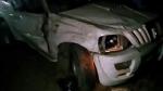 बलरामपुर: बारातियों से भरी स्कार्पियो खाई में गिरी, 3 की मौत, 1 मासूम सहित 8 घायल