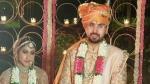 शादी के बंधन में बंधें दो कांग्रेसी MLA,अंगद सैनी के साथ अदिति सिंह ने लिए सात फेरे,देखें Pics