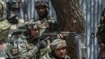 जम्मू कश्मीर में आतंकियों के साथ चल रहा है एनकाउंटर