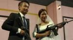 नागालैंड में विद्रोही नेता के बेटे और बहू ने रिसेप्शन में दिखाई राइफल, तस्वीर वायरल