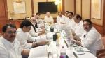 अजित पवार ने कहा, कांग्रेस-राकांपा के बीच बैठक रद्द, प्रवक्ता ने कहा चल रही है मीटिंग